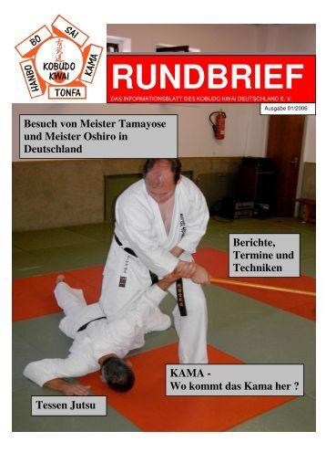 RUNDBRIEF 01 2006 - Kobudo Kwai Deutschland