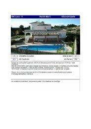 Page 1 Ref. Luna - 11 Ferello-Mar Il villa individuelle 3 Chambres a ...