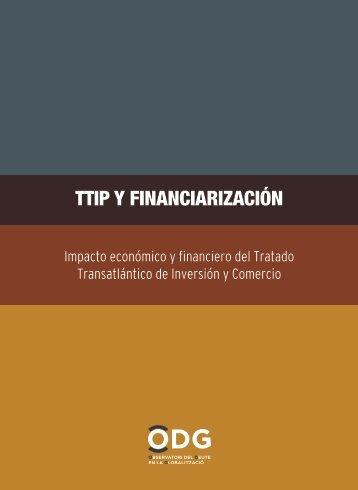 TTIP Y FINANCIARIZACIÓN