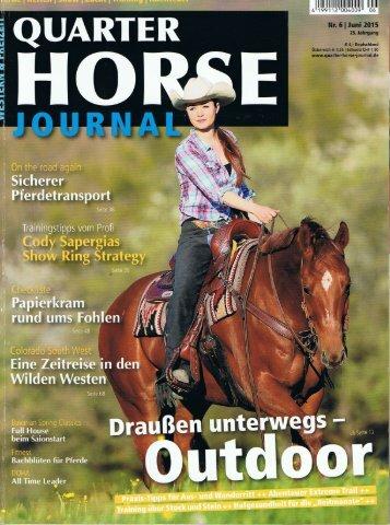 Abenteuer Extreme Trail. Quarter Horse Journal 6-2015