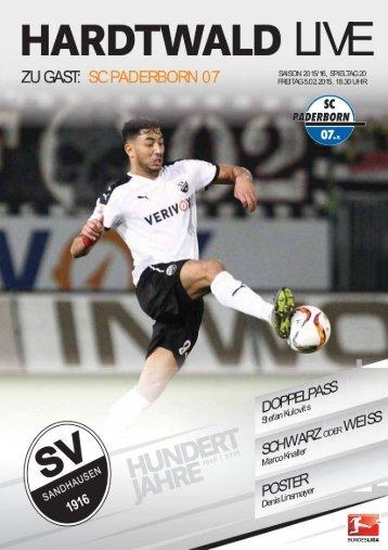 Hardtwald Live, Heft 10, Saison 2015/16