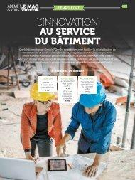 L'INNOVATION AU SERVICE DU BÂTIMENT
