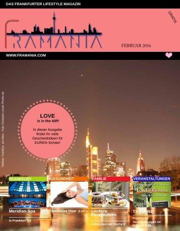 Framania Magazin Ausgabe Februar  2016