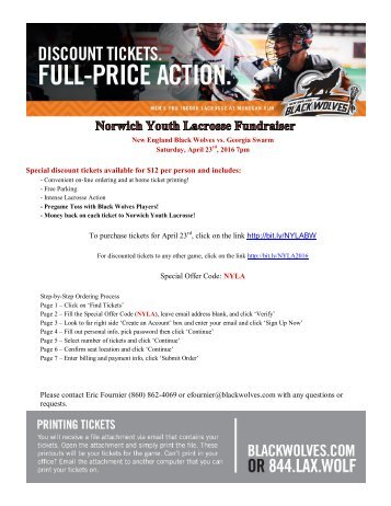 2016 Norwich LAX Fundraiser