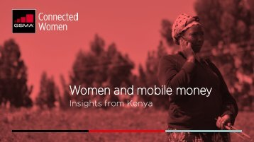 Women and mobile money