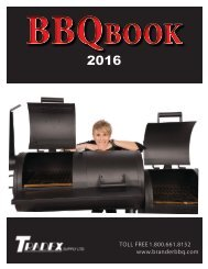 Tradex Supply 2016 BBQ Book Wholesale Catalogue