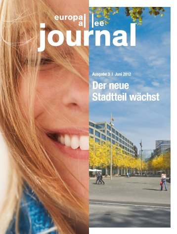 Europaallee-Journal_3/2012, 9 S., 2.5 MB