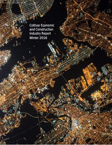 Coltivar Economic and Construction Industry Report Winter 2016