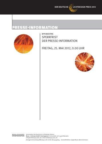 lumi napo - Der Deutsche Lichtdesign-Preis