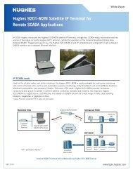 Hughes 9201-M2M Satellite IP Terminal for Remote SCADA ...