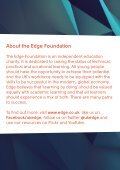 The Edge Foundation Annual Review 2015 / 2016 - Page 2