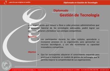 Gestión de Tecnología