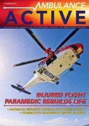 Ambulance Active Spring 2011Published By Countrywide Austral