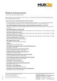 Öffentliches Verfahrensverzeichnis - Huk24