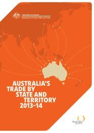 australia's trade by state and territory 2013-14