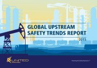 GLOBaL UPsTREaM saFETY TREnds REPORT
