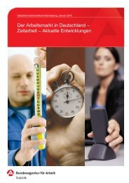 Der Arbeitsmarkt in Deutschland – Zeitarbeit – Aktuelle Entwicklungen