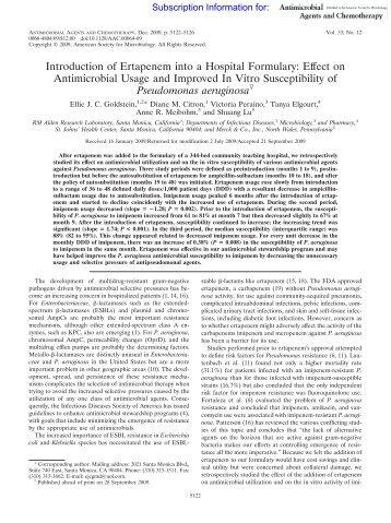 Pseudomonas aeruginosa - Antimicrobe.org