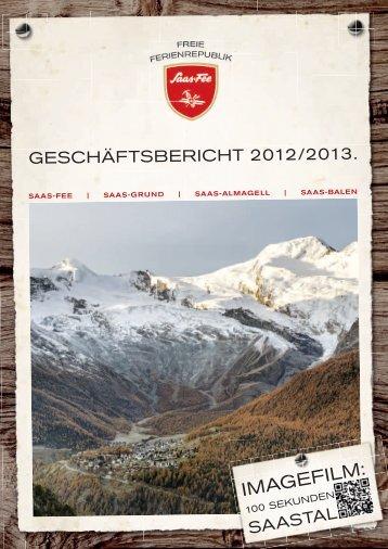 Geschäftsbericht 2012/2013