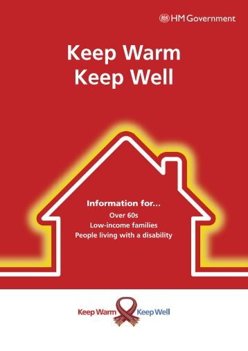 Vital advice in new 'Keep Warm Keep Well' booklet