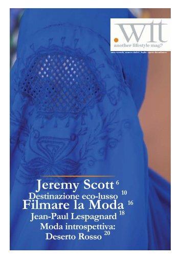 Jeremy Scott - Il Mattino di Bolzano