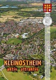 Orts- & Vereinsbroschüre Kleinostheim 2016