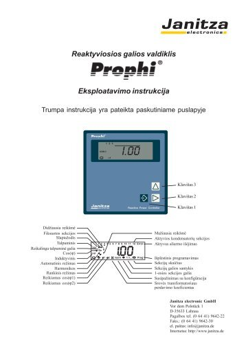 Prophi reguliatorius