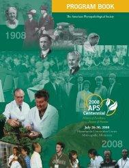 See the program book (PDF) - American Phytopathological Society