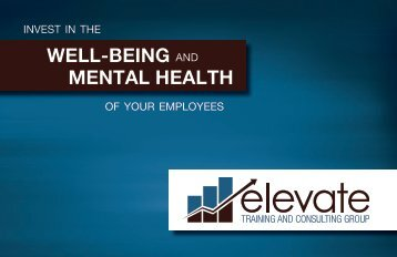 WELL-BEING MENTAL HEALTH