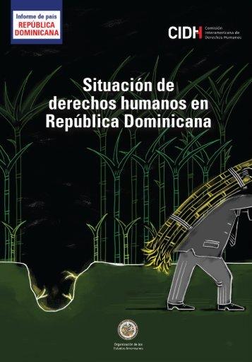 Informe sobre la situación de los derechos humanos en la República Dominicana