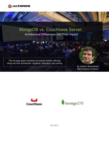 MongoDB vs Couchbase Server