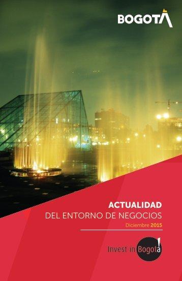 ACTUALIDAD DEL ENTORNO DE NEGOCIOS