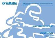 Yamaha XVS950 - 2015 - Mode d'emploi Italiano