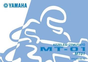 Yamaha MT01 - 2006 - Mode d'emploi Magyar