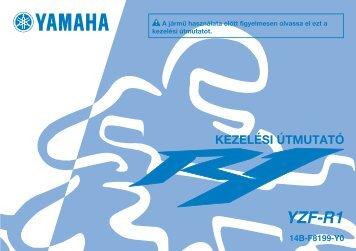 Yamaha YZF-R1 - 2008 - Mode d'emploi Magyar