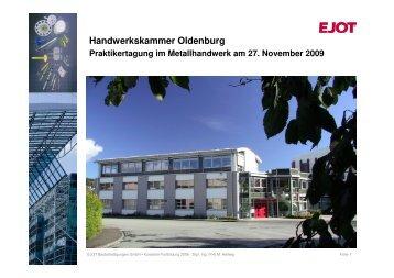 Handwerkskammer Oldenburg - Handwerkskammer Flensburg