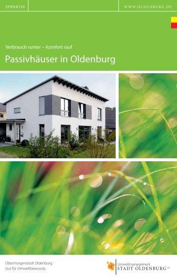 Komfort rauf Passivhäuser in Oldenburg - Klima(+)Oldenburg