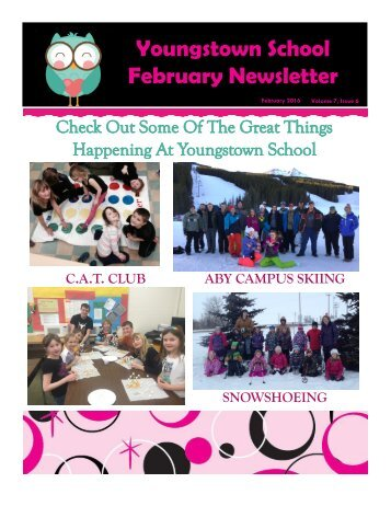 Youngstown School February Newsletter