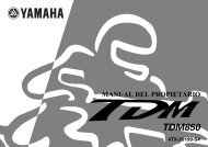 Yamaha TDM850 - 2000 - Mode d'emploi Español