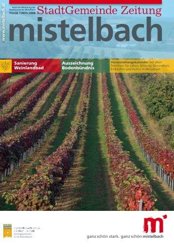 Gemeindezeitung 2008/7 (4,30 MB) - Mistelbach