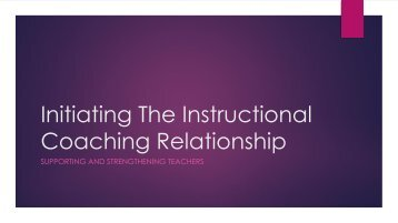 Instructional Coach Introduction