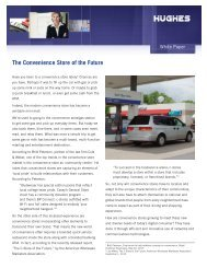 The Convenience Store of the Future - Hughes Global Services ...