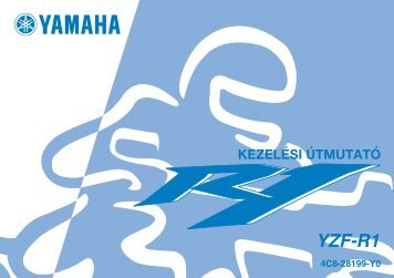 Yamaha YZF-R1 - 2006 - Mode d'emploi Magyar