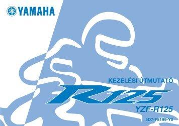 Yamaha YZF-R125 - 2008 - Mode d'emploi Magyar