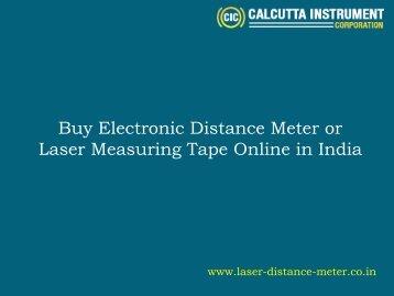 Buy Online Distance Meter India