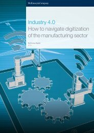 Industry 4.0 How to navigate digitization of the manufacturing sector