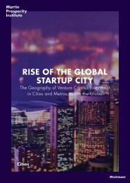 RISE OF THE GLOBAL STARTUP CITY