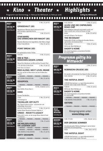 Kino KW06 / 11.02.16