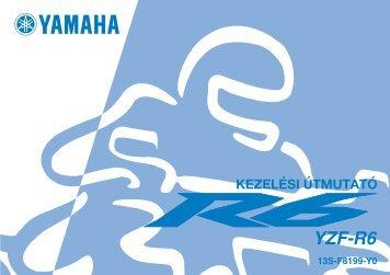 Yamaha YZF-R6 - 2008 - Mode d'emploi Magyar