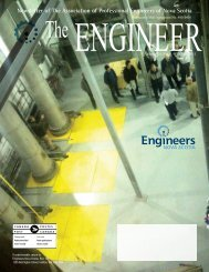 THE ENGINEER - Engineers Nova Scotia